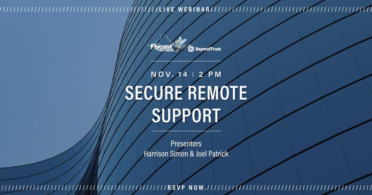 BeyondTrust Secure Remote Support November 14