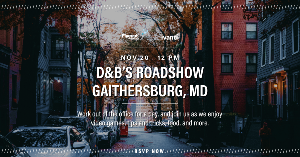 2019 Dave & Buster's Roadshow in Gaithersburg, Maryland on November 20 at 12 PM