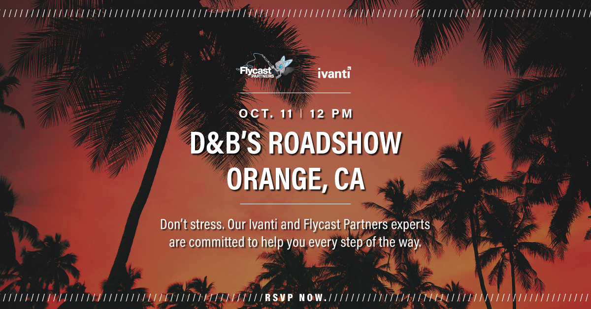 2019 Dave & Buster's Roadshow in Orange, CA on October 11th at 12 PM
