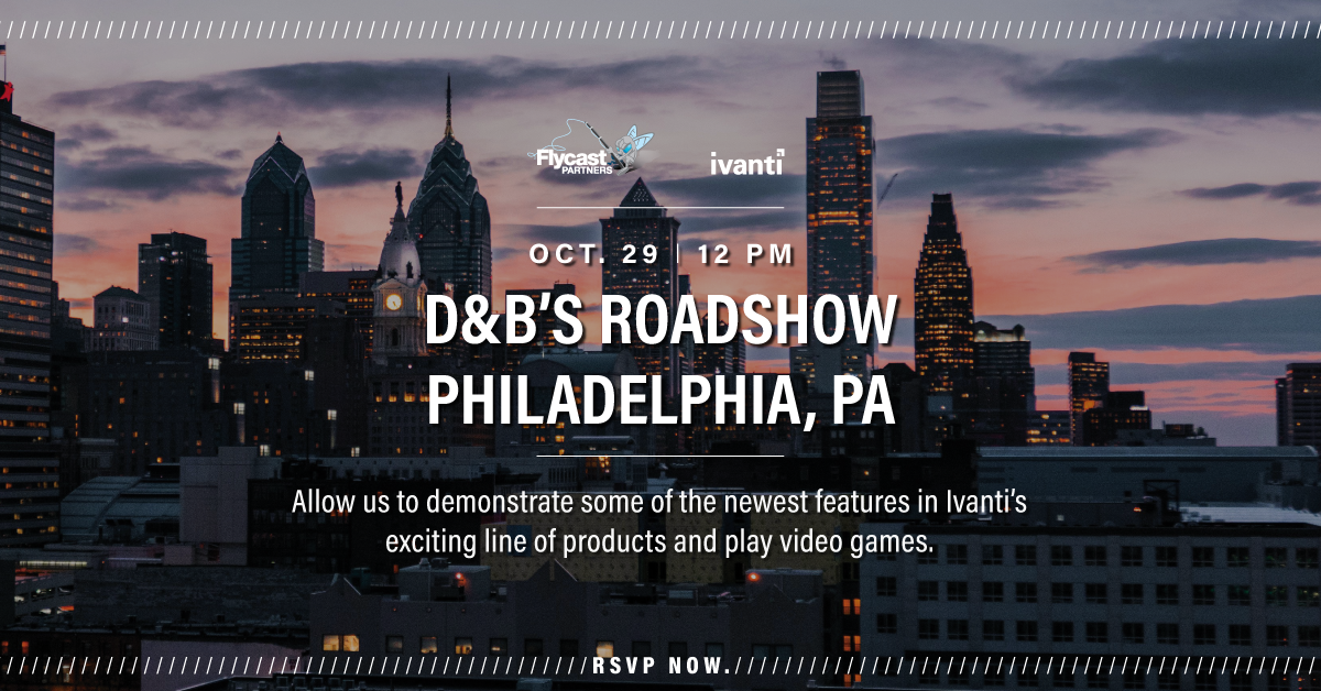 2019 Dave & Buster's Roadshow in Philadelphia, PA on October 29th at 12 PM