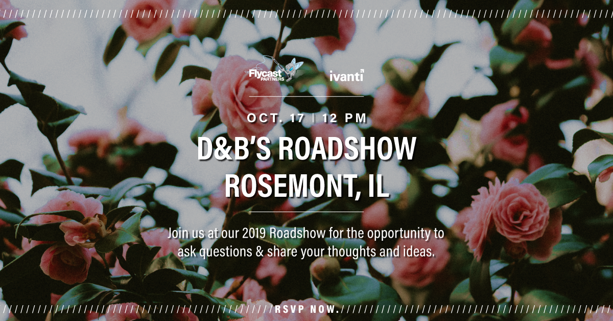 2019 Dave & Buster's Roadshow in Rosemont, IL on October 17th at 12 PM