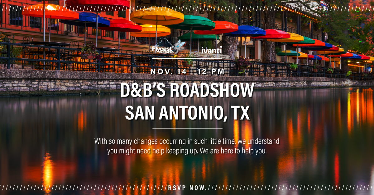 2019 Dave & Buster's Roadshow in San Antonio, Texas on November 14th at 12 PM