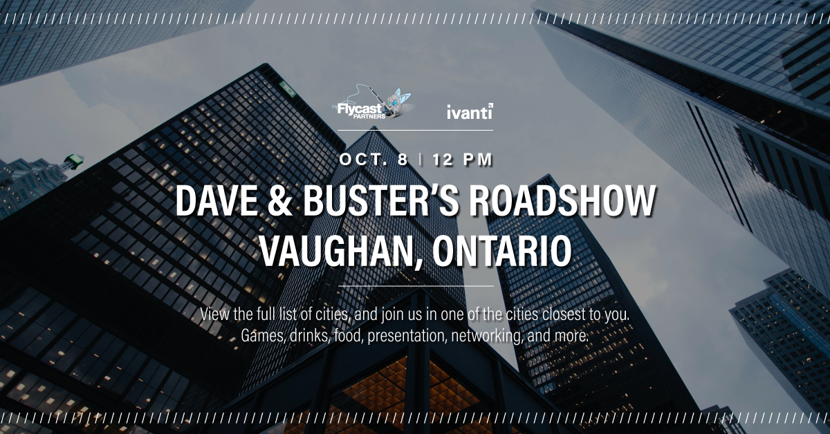 2019 Dave & Buster's Roadshow on October 8th at 12 PM