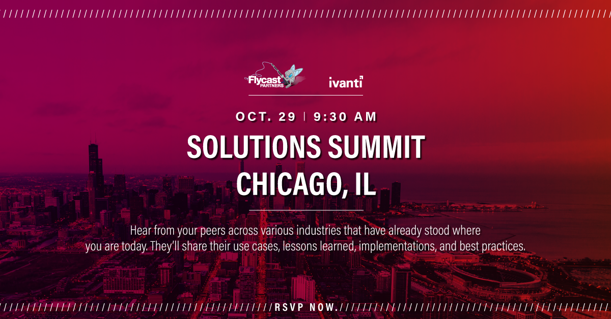 Ivanti Solutions Summit Chicago Illinois October 29