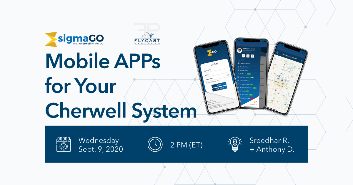 sigmago app for cherwell system
