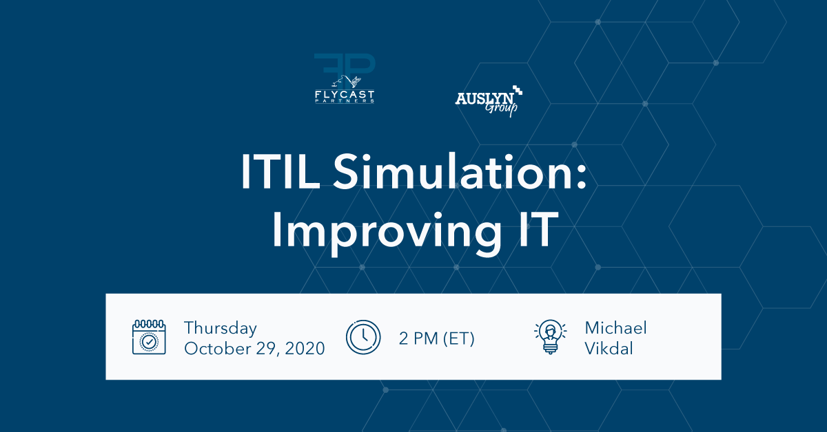 itil simulation auslyn group