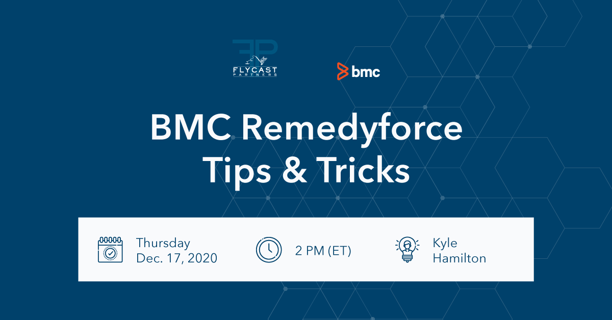 bmc remedyforce